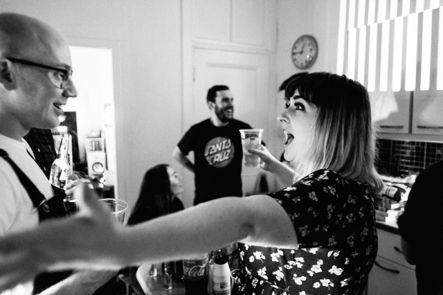 Hogmanay House Party by Party Photographer Lee Jones