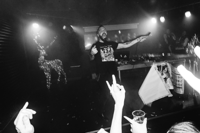 Glasgow Hogmanay in Cathouse with Jesse Leach of Killswitch Engage by Party Photographer Lee Jones