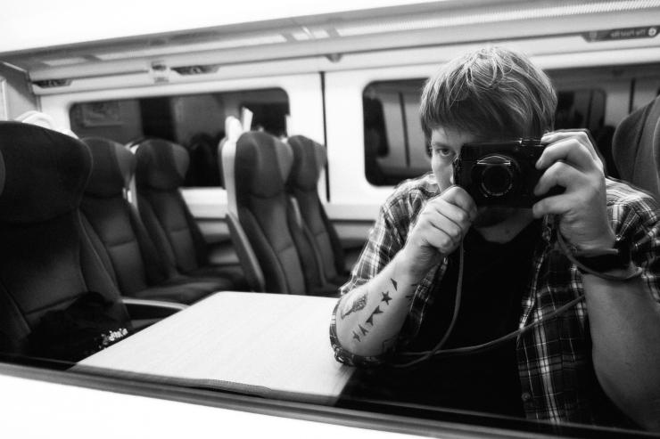 Glasgow to Scarborough on Virgin East Coast Train by Lee Jones