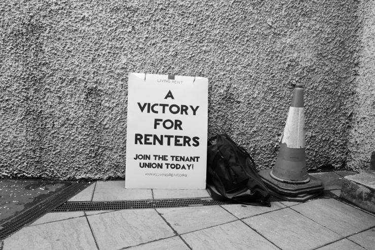 Living Rent Emergency Picket-1