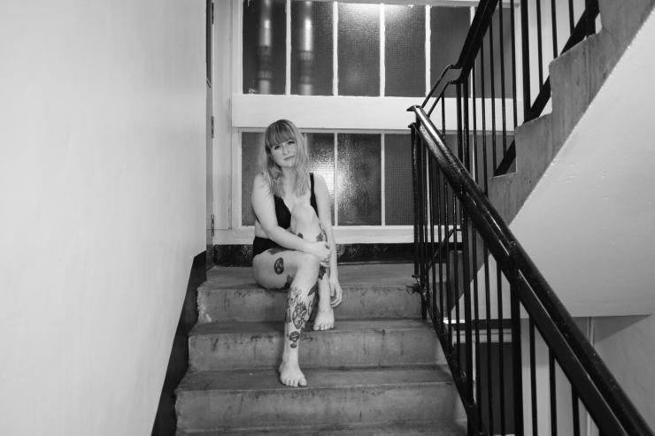 Kim, Stairs-1